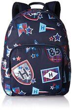 Tommy Hilfiger Kids TH Patch Backpack M - Zaini Bambino Blau (printed (x0v)
