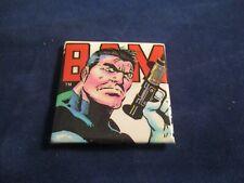 "Retro The Punisher ""Bam"" 1987 Marvel Comics Super Hero Refrigerator Magnet"