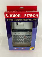Canon P170DH 12-Digit 2-Color Printing Calculator  P170-DH