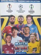 Match Attax Champions League 2021/2022 limited edition Festive Cards Chrome Team