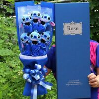 1PC New Cute Stitch Plush Toys Anime Lilo Stitch Soft Stuffed Animal Dolls