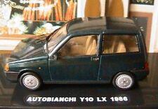 AUTOBIANCHI Y10 LX 1986 EDISON EG ITALIA 1/43 VERTE GREEN LH DRIVE VERT GRUN