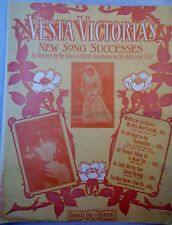 WAITING AT THE CHURCH-MY WIFE WON'T LET ME-1906-ENGLISH PERFORMER VESTA VICTORIA