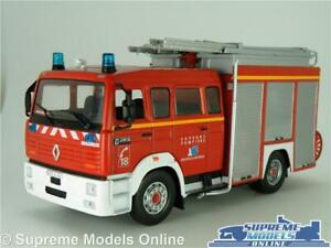 RENAULT VI G 270 MAGIRUS FIRE ENGINE MODEL TRUCK LORRY 1:43 SCALE IXO RED K8