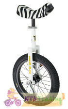 qu-ax Unicycle 16 inches Luxury White New 1005