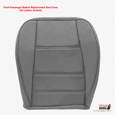 1999 2000 2001 Ford Mustang V6 Coupe PASSENGER Bottom Leather Seat Cover Gray