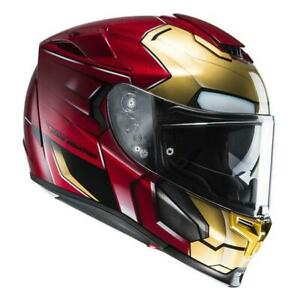 NEW HJC RPHA 70 Ironman Motorcycle Helmet - Gold/Red from Moto Heaven