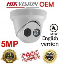 Hikvision(OEM) DS-2CD2352-I(NC305-XD) 5MP POE EXIR Turret Outdoor IP CAM 4MM