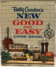 *VG* New Good and Easy Cook Book by Betty Crocker (1st 1962 Printing)