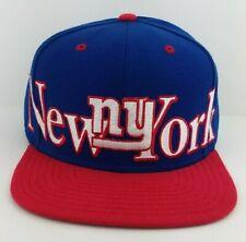 New York Giants NFL Snap-back/Hat/Cap/Reebok/Throwback/Retro/Vintage/NY