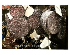DISNEY MICKEY MOUSE Silver GLITTER 3D Zip Coin Purse Primark BNWT Girls/ Ladies