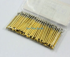100 Pieces P75-Q2 Dia 1.02mm Spring Test Probe Pogo Pin