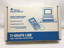 Vintage Texas Instruments Graph Link Windows Macintosh DOS TI 82 83 85 92