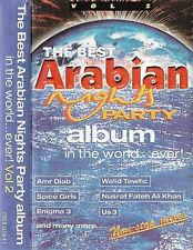 various best arabian night party... world ever v2 CASSETTE ALBUM Electronic UAE