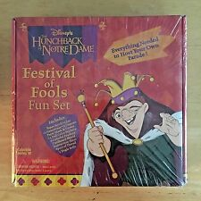 Disney Hunchback of Notre Dame Festival of Fools Fun Set - NEW SEALED