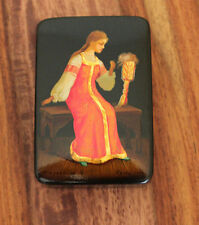 Vintage Russian Lacquer Box - 1976, Fedoskino, USSR, Soviet