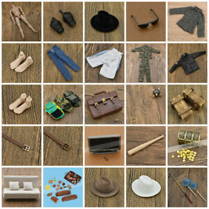 1/6 Scale Soldier Doll Model Military & Adventure Accessories for Action Figure