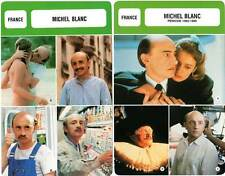 FICHE CINEMA x2 : MICHEL BLANC - France (Biographie/Filmographie)