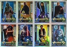 Star Wars FORCE ATTAX UNIVERSE Rainbow Foil Card Set of 16 Topps  2017