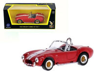 1964 SHELBY COBRA 427 S/C RED 1/43 DIECAST CAR MODEL BY ROAD SIGNATURE 94227R