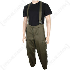 Original Austrian Olive Drab Trousers - Army Military Surplus Pants Green Sizes