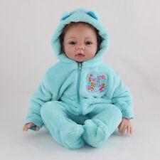 "22"" 55cm Handmade Realistic Lifelike Reborn Baby Dolls Soft Vinyl Girl Boy Real"