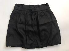 Tibi New York Womens Black Bubble Hem Mini Skirt Size 2