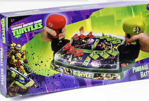 6 Nickelodeon Teenage Mutant Ninja Turtles Pinball Ball Battle Game Toys - New