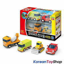 Little Bus TAYO Friends Special 4 pcs Set V.3 Toy Cars Ruby Speedy Chris Billy