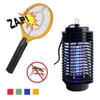 Electric Hand Held Bug Zapper Insect Zapper Fly Swatter Racket Mosquito Killer