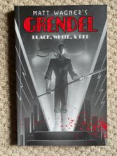 GRENDEL: BLACK, WHITE, & RED Matt Wagner TPB Graphic Dark Horse FIRST 2000 VGS