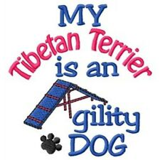 My Tibetan Terrier is An Agility Dog Short-Sleeved Tee - Dc1872L