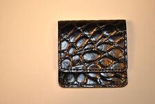 Square Cigar Cutter Case Black