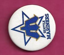 RARE VINTAGE BASEBALL SEATLE MARINERS  PINBACK  (INV# C0343)