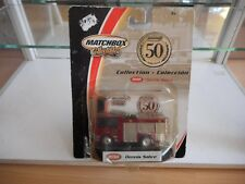 Matchbox 50 Years Collection Dennis Sabre in Red on Blister