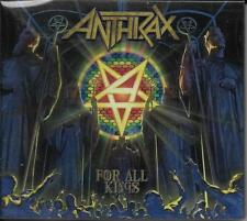 DOUBLE CD 17T DIGIPACK INCLUS BONUS EP LIVE ANTHRAX (Anthrax) FOR ALL KINGS 2016