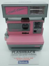 POLAROID COOLCAM PINK VINTAGE INSTANT CAMERA. PX600 FILM COMPATIBLE. TESTED.