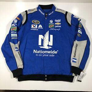 Dale Earnhardt Jr. Nationwide Nascar Jacket Blue JH Design NWT Size XL