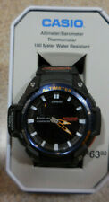 Casio Twin Sensor Watch Altimeter Thermometer 100 Meter Alarms SGW450H-2BTN