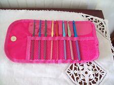 Crochet Hook Set with Organizer Case  #1