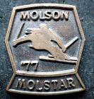 Vintage Ski Pin -  Molson Molstar '77 Stamped C. Lamond Montreal