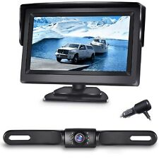 eRapta A43 Rear View Backup Camera 4.3