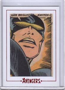 Marvel Avengers Silver Age Archive Cut AV67 18/104 SP SKC