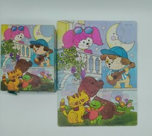 VTG Golden 1983 Poochie Pup Jigsaw Puzzle 4621A moon serenade 25pc kids complete
