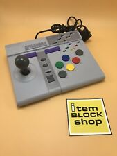 Super Nintendo SNES Super Advantage Arcade Joystick Controller Asciiware w/ Box