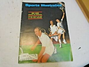 August 26, 1968 Sports Illustrated Tennis Rod Laver Cover in good shape - NR