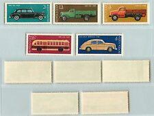 Russia  USSR 1976  SC  4440  4444  MNH, transport, cars. si1661