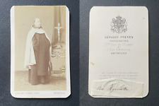 Géruzet, Brussels, Hyacinthe vintage cdv albumen print, Charles loyson, more co