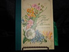 Memories Floral Photograph Album, Unused 1999 Pepperpot, England, Ephemera