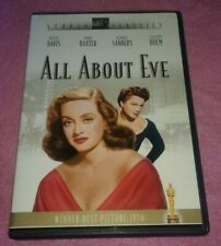 All About Eve Dvd Studio Classics Bette Davis Anne Baxter George Sanders